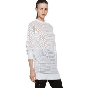 Alexander wang scoop neck tunic sweater